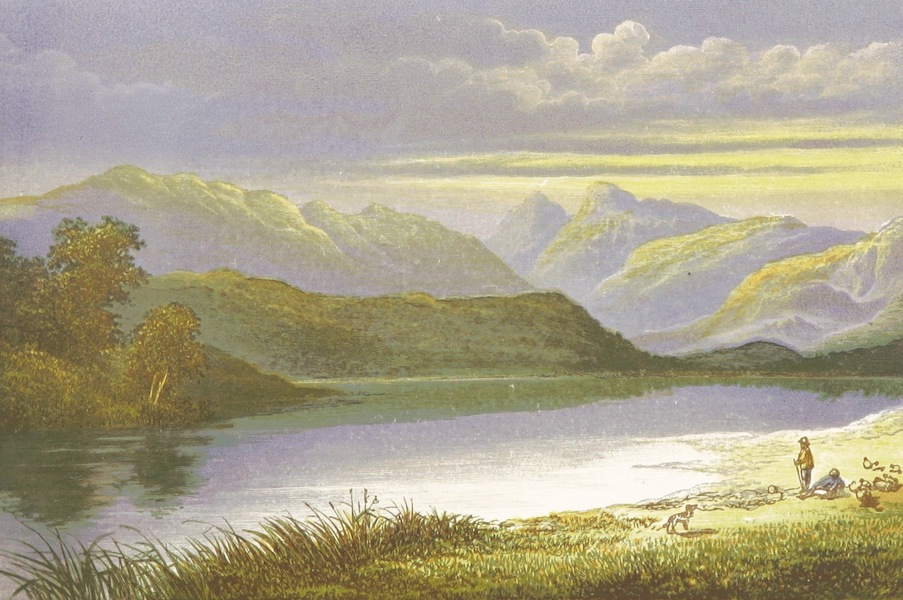 English Lake Scenery - Elterwater (1880)