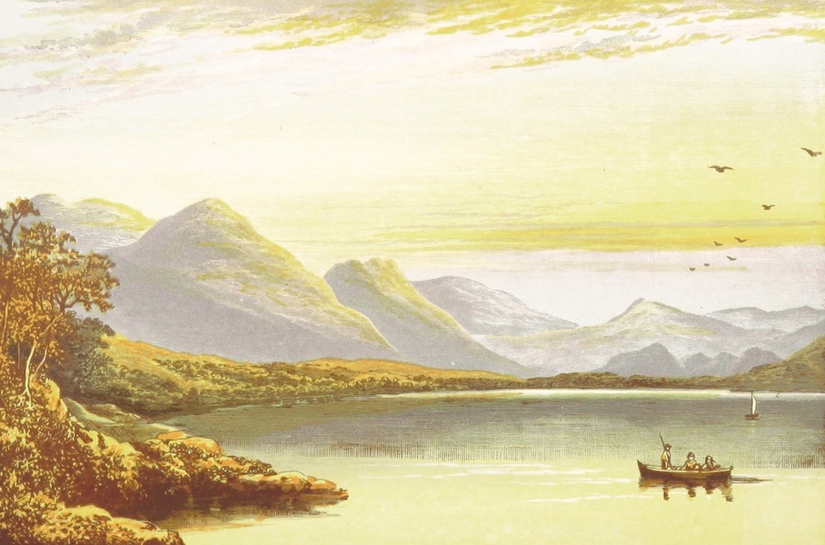 English Lake Scenery - Bassenthwaite Lake (1880)