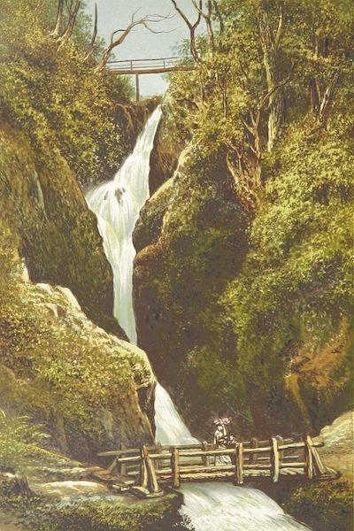 English Lake Scenery - Airey Force (1880)