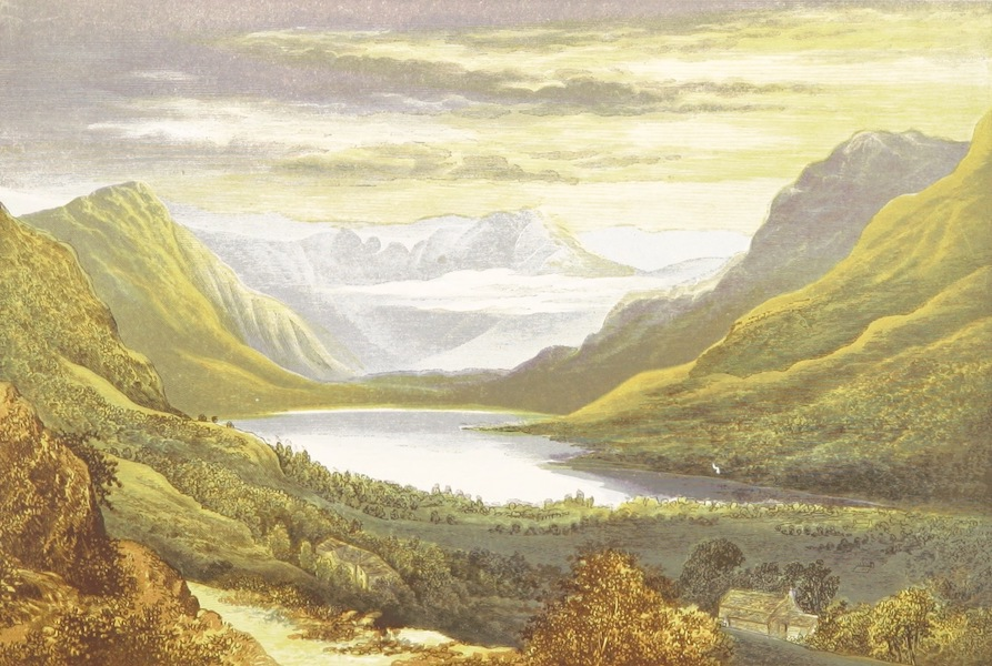 English Lake Scenery - Buttermere (1880)