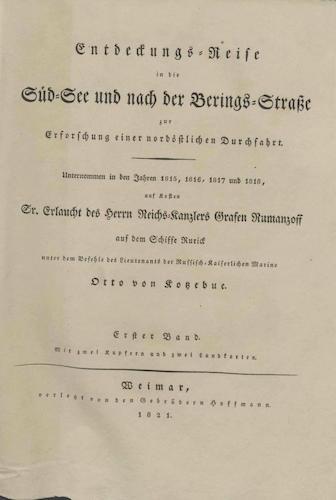 Exploration - Entdeckungsreise in die Sudsee und nach der Berings-Strabe Vol. 1