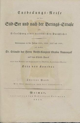 Exploration - Entdeckungsreise in die Sudsee und nach der Berings-Strabe Vol. 2