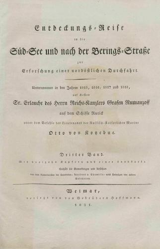 Exploration - Entdeckungsreise in die Sudsee und nach der Berings-Strabe Vol. 3