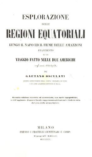 British Library - Esplorazione delle Regioni Equatoriali