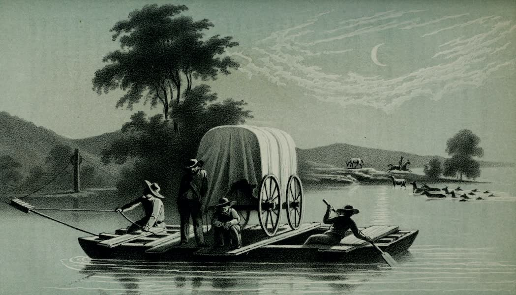 Exploration and Survey of the Valley of the Great Salt Lake of Utah - Crossing of the Platte (1852)