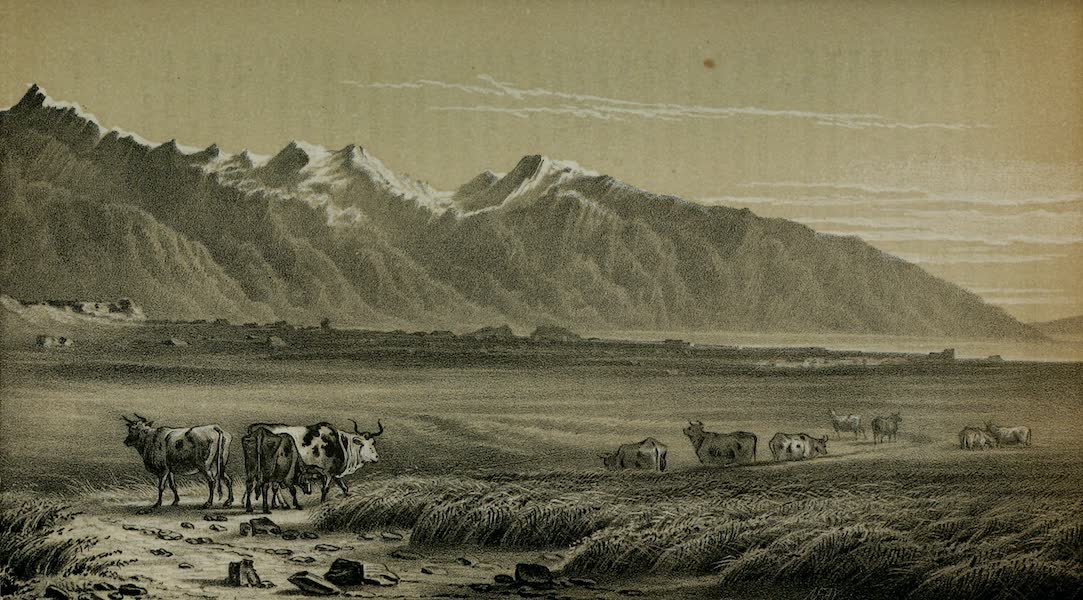 Exploration and Survey of the Valley of the Great Salt Lake of Utah - Great Salt Lake City, from the North (1852)