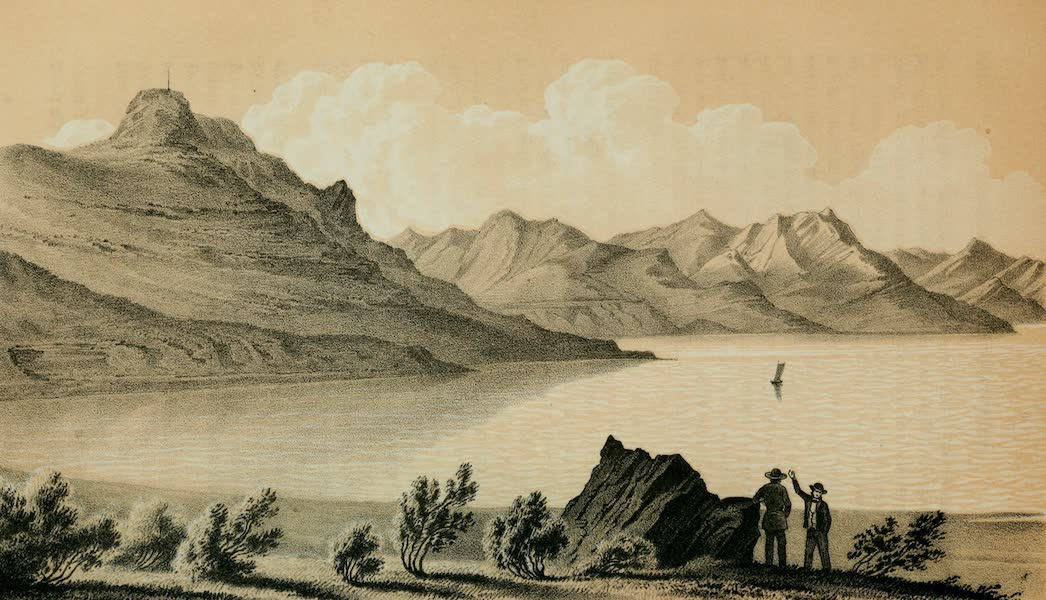 Exploration and Survey of the Valley of the Great Salt Lake of Utah - Cave on Fremont's Island (1852)