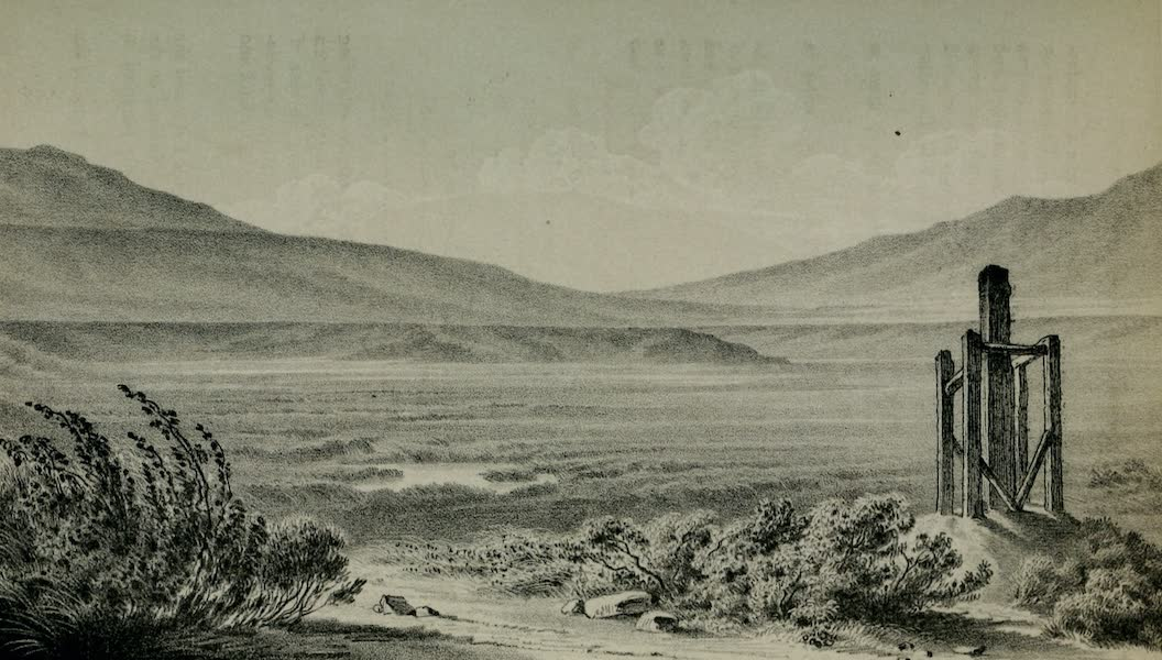 Exploration and Survey of the Valley of the Great Salt Lake of Utah - Valley of the Jordan, from the Mouth of the She-rente (1852)
