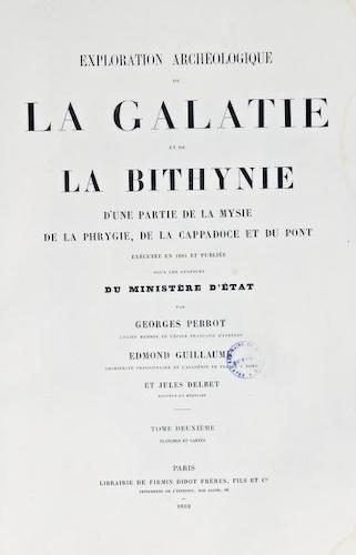 Aquatint & Lithography - Exploration Archeologique de la Galatie et de la Bithynie Vol. 2