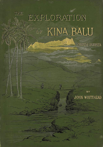 Aquatint & Lithography - Exploration of Mount Kina Balu, North Borneo