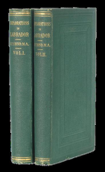 Explorations in the Interior of the Labrador Peninsula Vol. 1 - Book Display (1863)