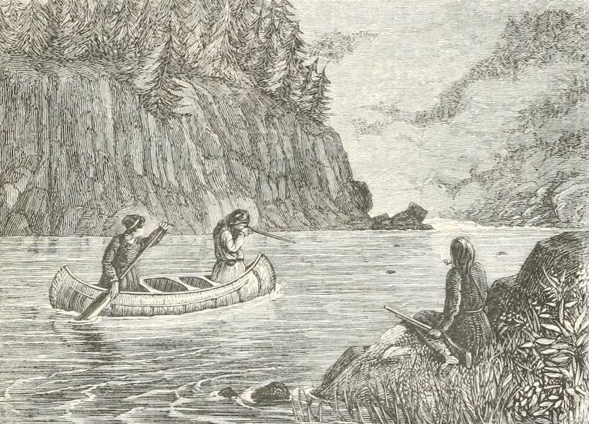 Explorations in the Interior of the Labrador Peninsula Vol. 1 - Seal Hunting on the Moisie (1863)