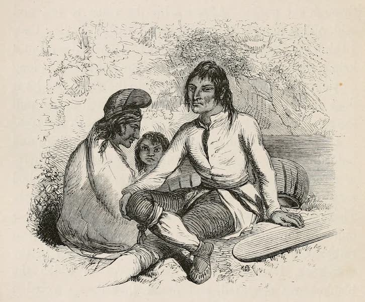 Explorations in the Interior of the Labrador Peninsula Vol. 1 - Domenique, Chief of the Montagnais of Lake Ashwanipi (1863)