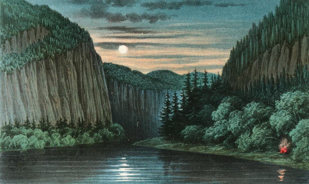 Explorations in the Interior of the Labrador Peninsula Vol. 1 - Second Gorge (1863)