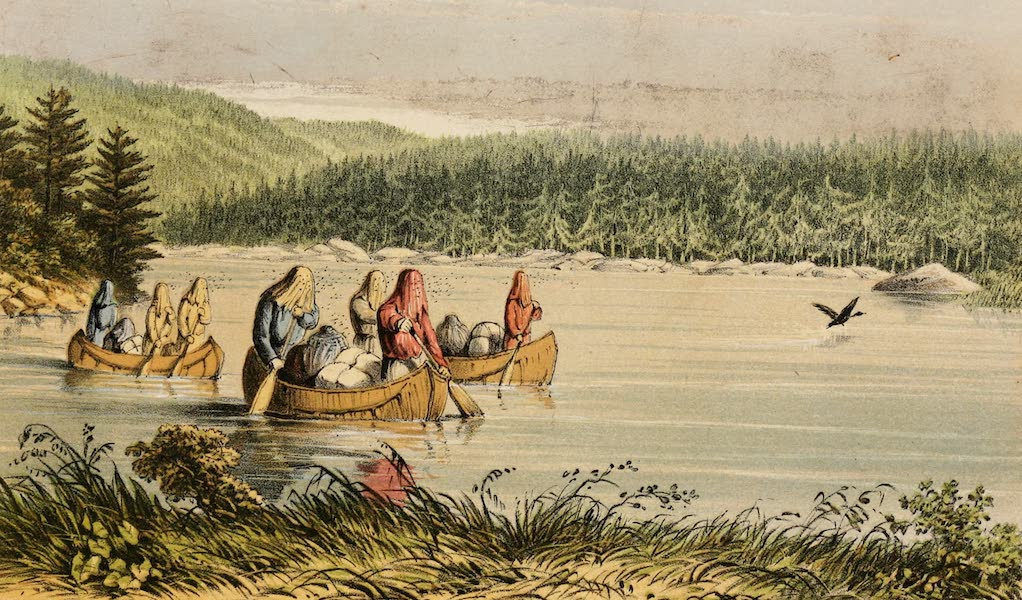 Explorations in the Interior of the Labrador Peninsula Vol. 1 - Mosquito Lake (1863)