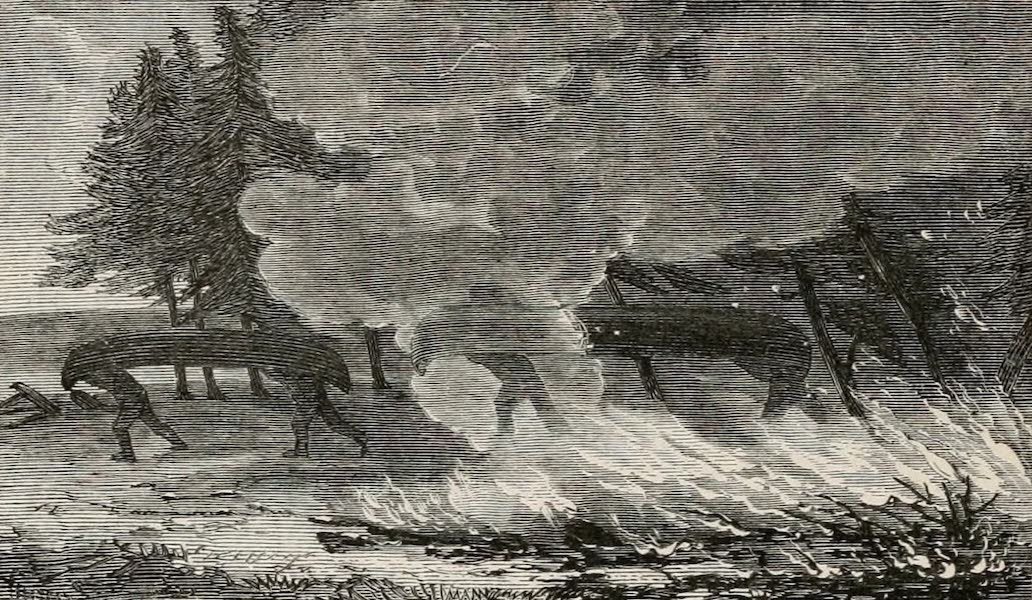 Explorations in the Interior of the Labrador Peninsula Vol. 1 - Escape From a Fire on the Portage (1863)
