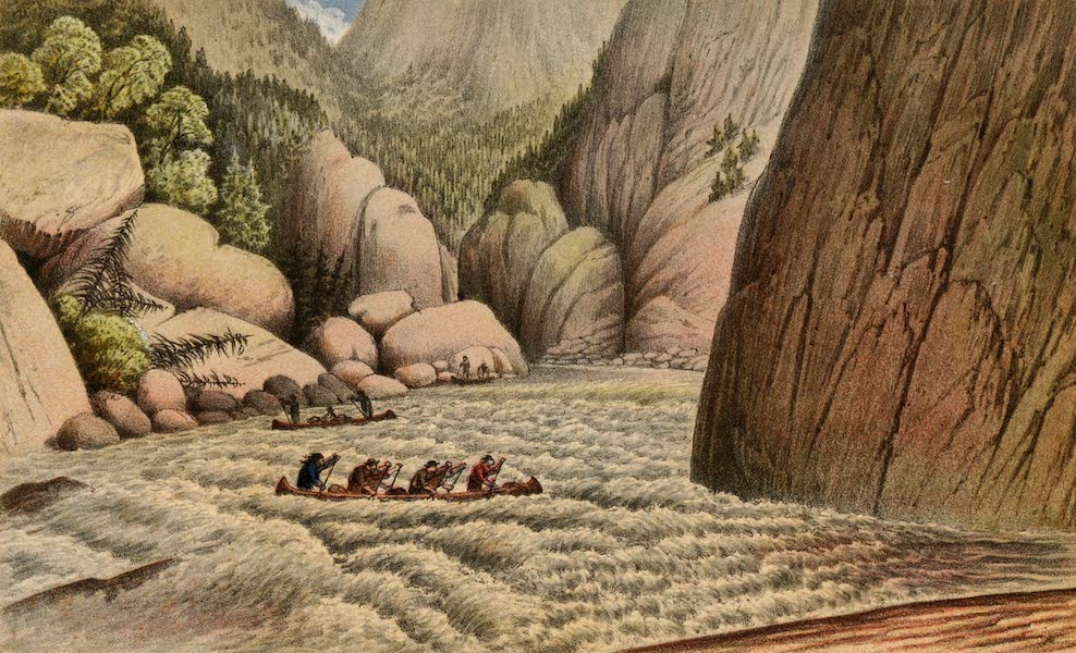 Explorations in the Interior of the Labrador Peninsula Vol. 1 - An Escape at the Fourth Rapid (1863)