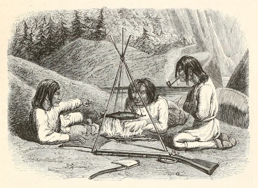 Explorations in the Interior of the Labrador Peninsula Vol. 1 - Nasquapees on the Moisie (1863)