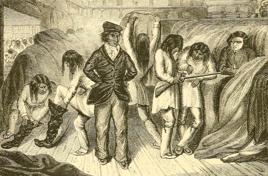 Nasquapee Indians at the Hudson's Bay Company's Post at Mingan