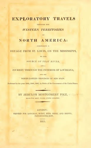English - Exploratory Travels Through the Western Territories of North America
