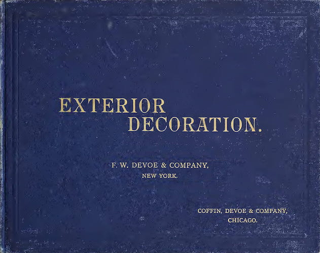 English - Exterior Decoration