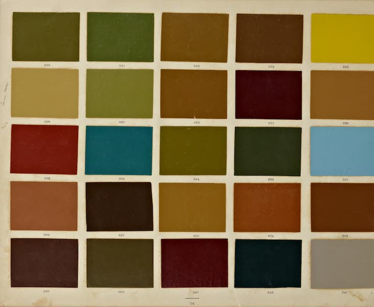 Exterior Decoration - Color Swatches [I] (1885)