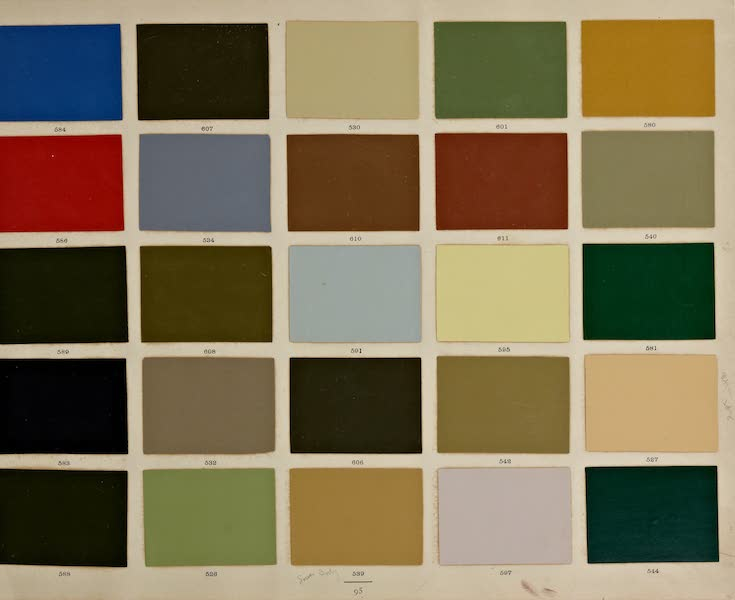 Exterior Decoration - Color Swatches [II] (1885)