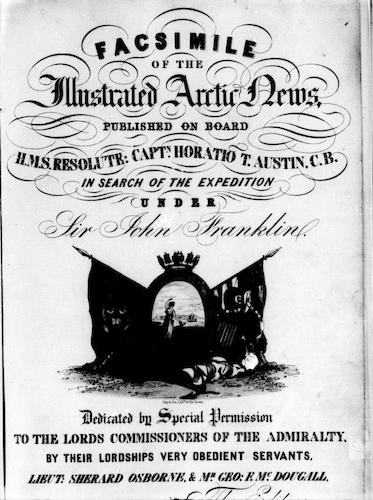 English - Facsimile of the Illustrated Arctic News