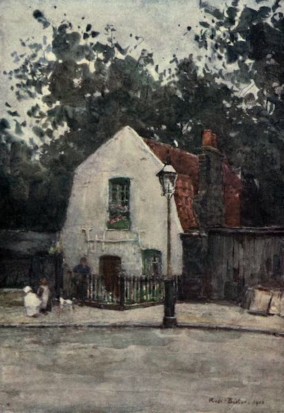 Familiar London Painted by Rose Barton - Rus in Urbe (1904)
