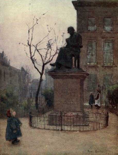 Familiar London Painted by Rose Barton - Who is it? (1904)