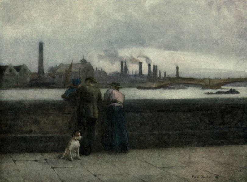 Familiar London Painted by Rose Barton - Out for the Day (1904)