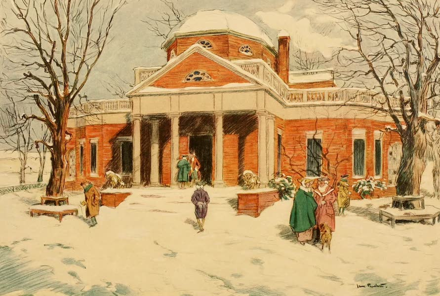 Famous Colonial Houses - Monticello (1921)