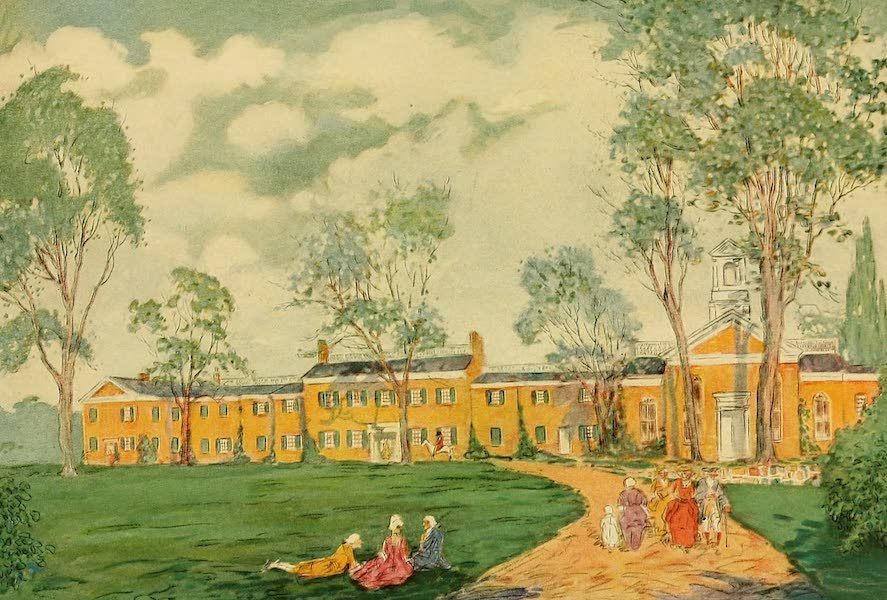 Famous Colonial Houses - Doughoregan Manor (1921)