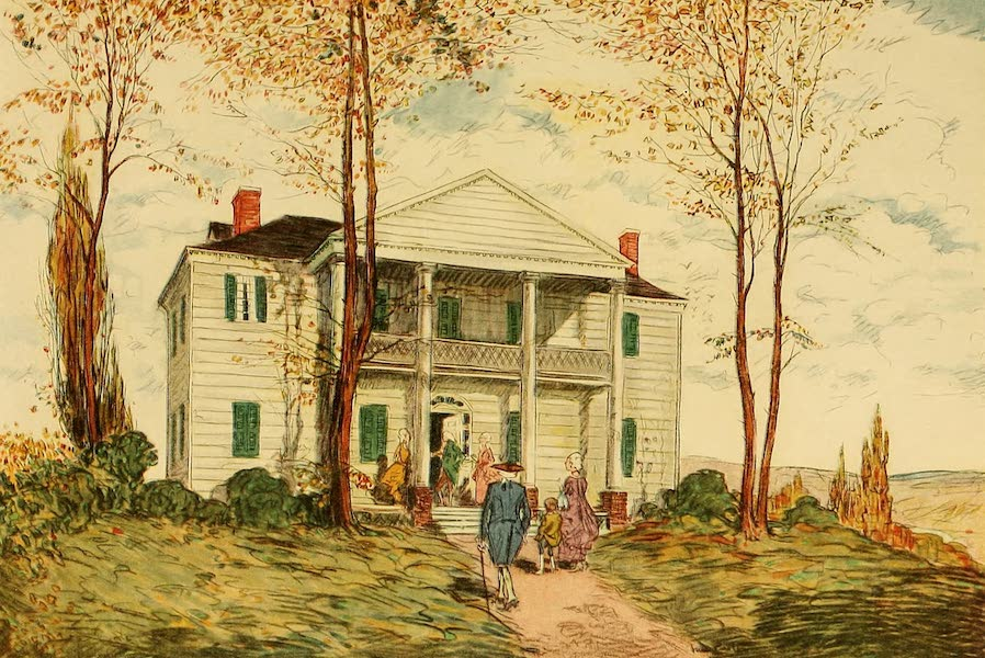 Famous Colonial Houses - The Jumel Mansion (1921)