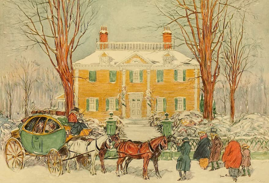 Famous Colonial Houses - The Longfellow House (1921)
