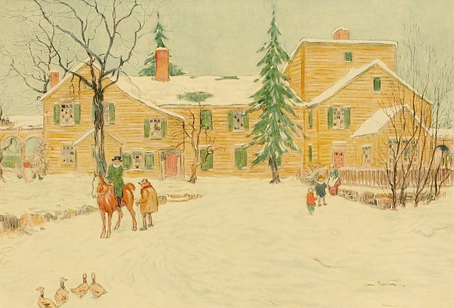 Famous Colonial Houses - The Wentworth Mansion (1921)