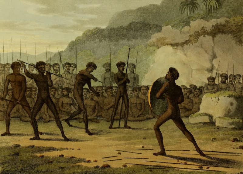 Field Sports of the Native Inhabitants of New South Wales - Trial (1813)