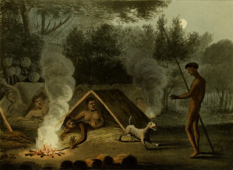 Field Sports of the Native Inhabitants of New South Wales - Repose (1813)