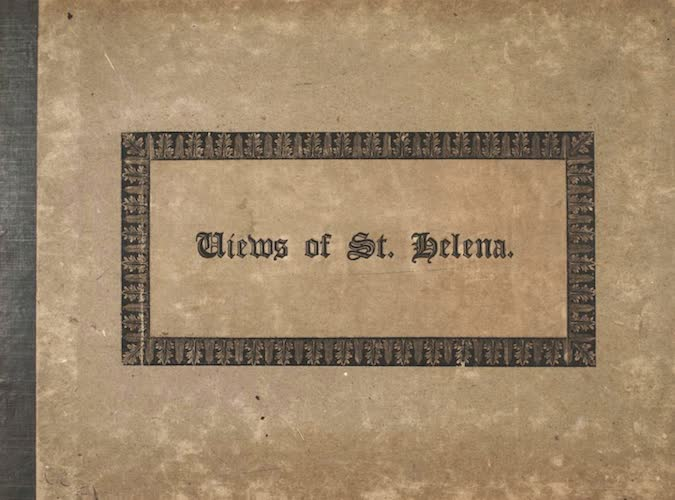 English - Five Views of the Island of St. Helena