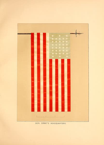 Flags of the Army of the United States - Gen. Grants Headquarters (1887)