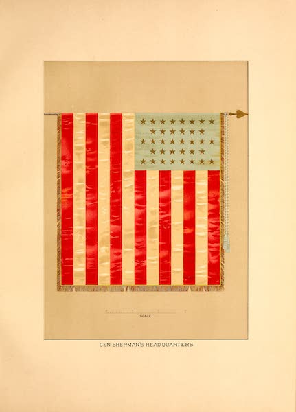 Flags of the Army of the United States - Gen. Sherman's Headquarters (1887)