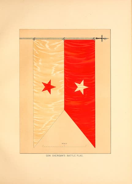 Flags of the Army of the United States - Gen. Sheridan's Battle Flag (1887)