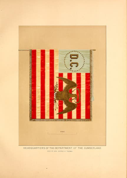 Flags of the Army of the United States - Headquarters of the Department of the Cumberland (1887)