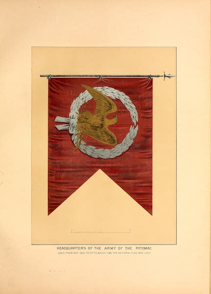 Flags of the Army of the United States - Headquarters of the Army of the Potomac (1887)