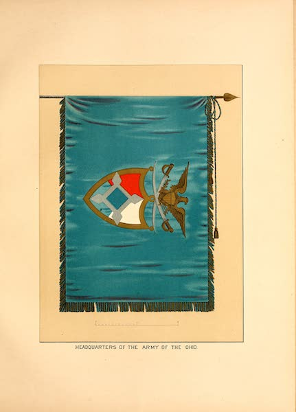 Flags of the Army of the United States - Headquarters of the Army of the Ohio (1887)
