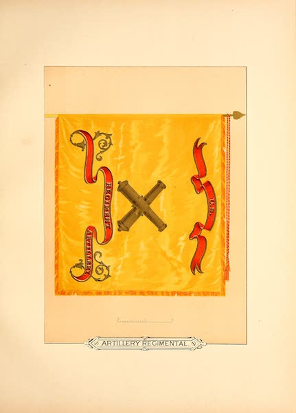 Flags of the Army of the United States - Artillery Regimental (1887)
