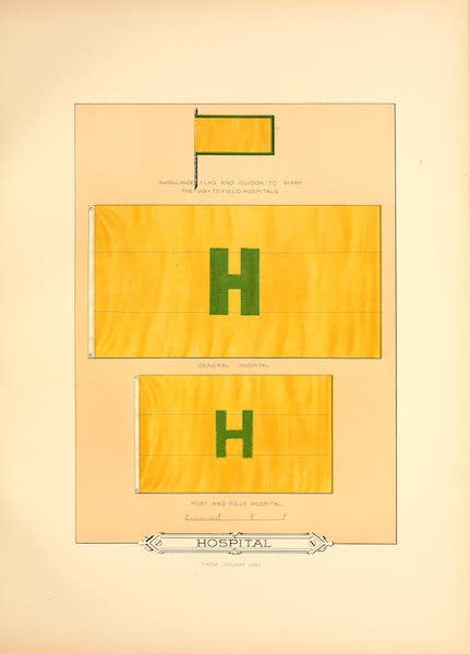 Flags of the Army of the United States - Hospital (1887)