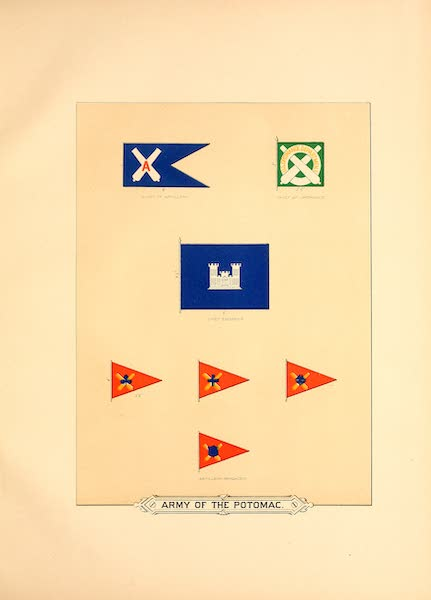 Flags of the Army of the United States - Army of the Potomac (1887)