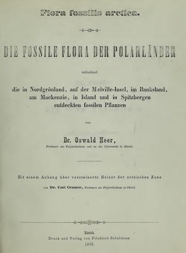 Natural History - Flora Fossilis Arctica Vol. 1