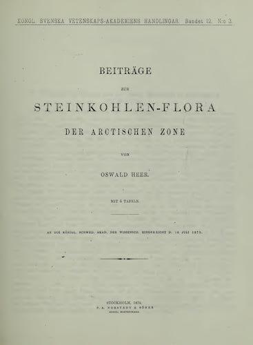 Natural History - Flora Fossilis Arctica Vol. 3